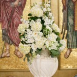 Stacy Abdalla ceremony arrangement